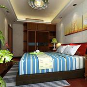 美式精致典雅风格卧室