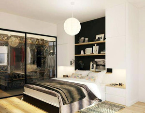 2016别墅型欧式风格卧室吊顶装修效果图鉴赏