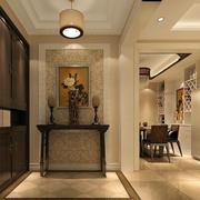 现代中式风格玄关装修