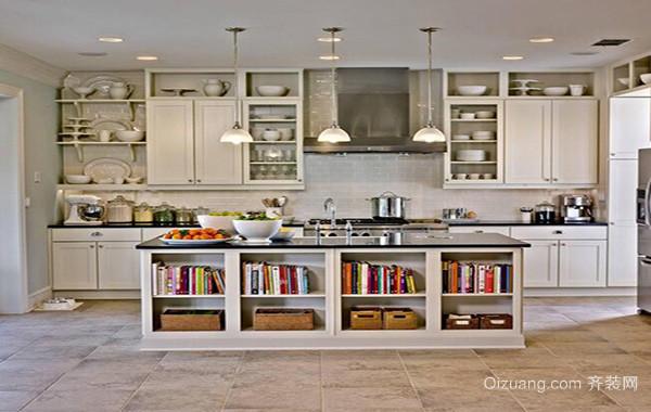 90平米大户型厨房吊顶设计装修效果图实例