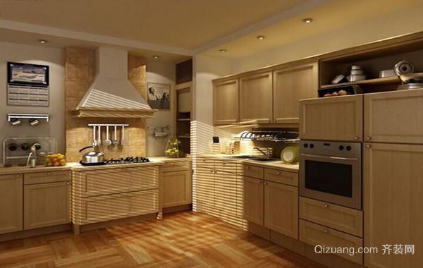 2016别墅型厨房橱柜设计装修效果图鉴赏