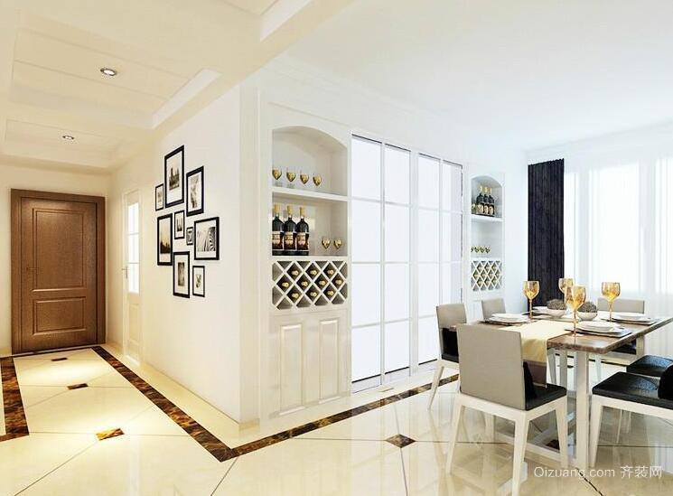 2016精致大户型餐厅室内设计装修效果图欣赏