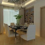 2016经典别墅型欧式餐厅设计装修效果图欣赏