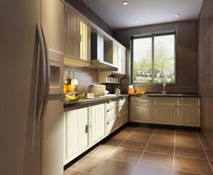 小户型欧式风格厨房橱柜装修效果图欣赏