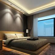 简约卧室效果图