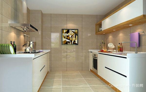 110平米现代简约风格精致厨房装修效果图大全