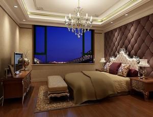 别墅型欧式卧室室内设计装修效果图欣赏