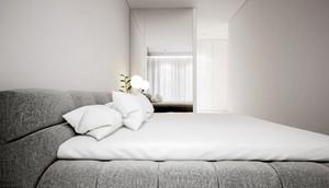 90平米白色空间时尚混搭公寓装修效果图鉴赏