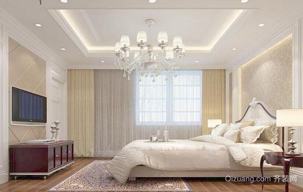 2016欧式卧室室内背景墙设计装修效果图欣赏