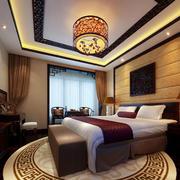 古典欧式风格精致典雅卧室吊顶装修效果图