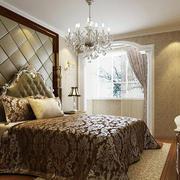 精致典雅风格卧室吊顶效果图