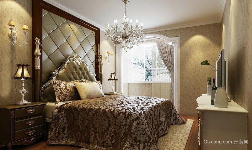 2016年法式风格精致卧室整体设计装修效果图