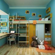 海洋色调儿童房装修效果图