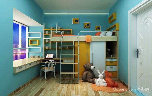 20平米现代简约风格创意个性儿童房装修效果图