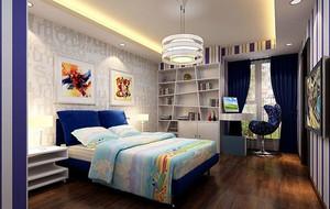 现代简约时尚创意大户型室内儿童房装修效果图大全