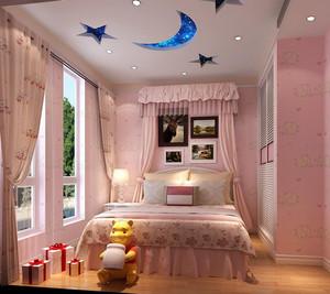 110平米简约风格时尚创意儿童房装修效果图赏析