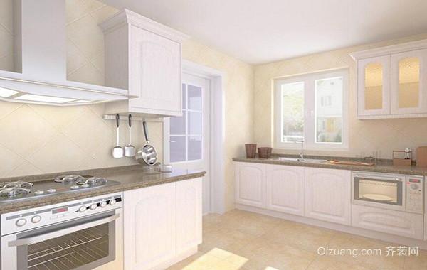 2016欧式大户型厨房室内设计装修效果图鉴赏