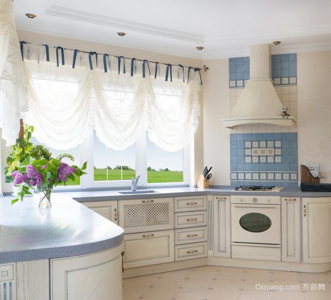 2016别墅厨房室内设计装修效果图鉴赏