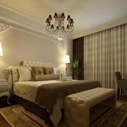 120平米大户型欧式卧室装修效果图鉴赏