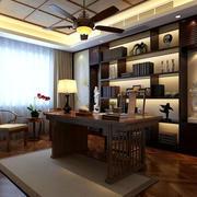 现代中式书房设计