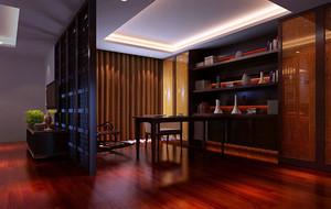 古典中式风格别墅型精致别致书房装修效果图