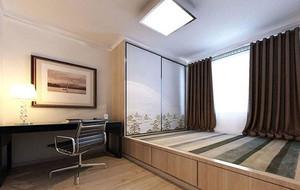 5平米现代简约风格自然舒适榻榻米装修效果图