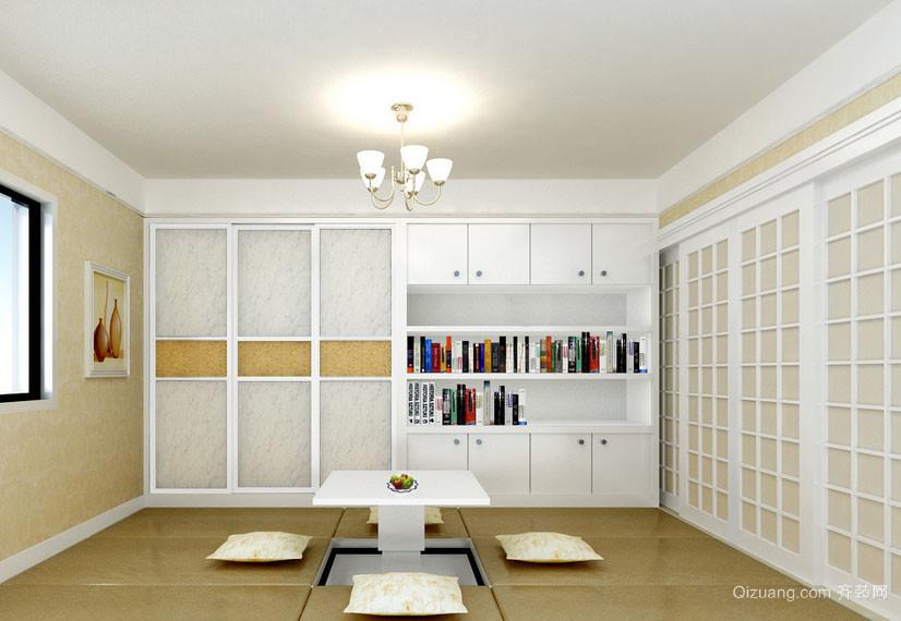 6平米现代简约风格室内榻榻米装修效果图