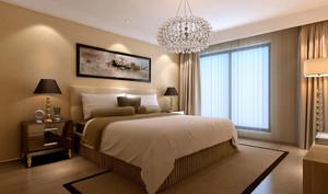 80平米简约风格时尚室内卧室装修效果图