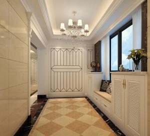 大户型欧式风格精致进门玄关装修效果图