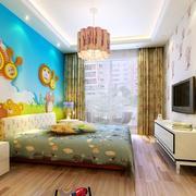 现代小户型精致的儿童房装修效果图实例