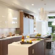 别墅型欧式厨房室内设计装修效果图鉴赏