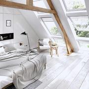 简约阁楼卧室装修效果图