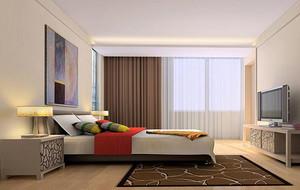 2016别墅型欧式卧室背景墙装修效果图欣赏