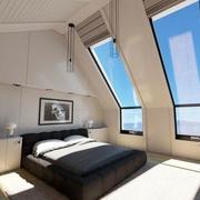 阁楼时尚创意卧室装修