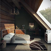 阁楼卧室装修效果图