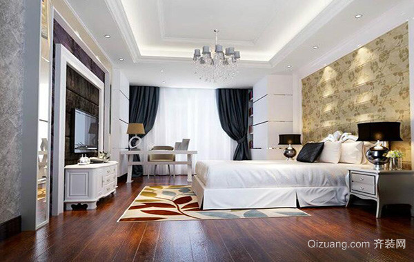 小户型欧式卧室吊顶装修效果图实例
