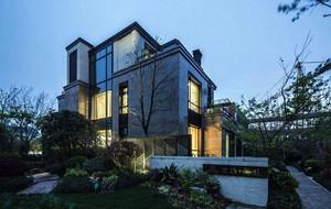 2016年现代中式别墅室内装修效果图赏析