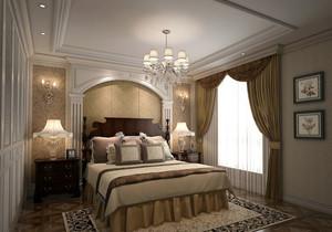 大户型简欧风格精致卧室吊顶装修大全