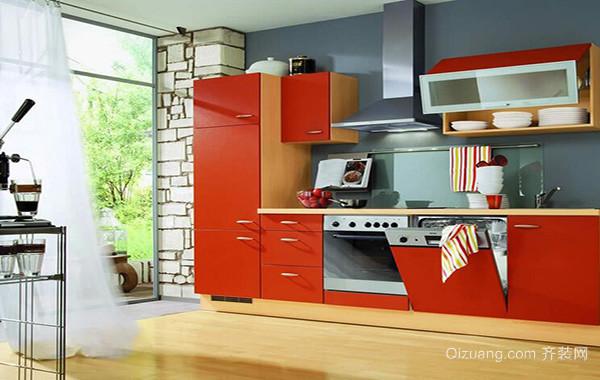 2016大户型欧式厨房橱柜装修效果图欣赏