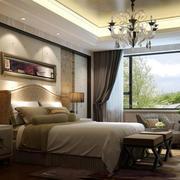 大户型简欧风格精致时尚卧室吊顶装修效果图