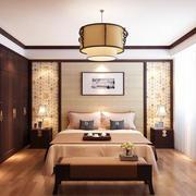 中式风格卧室吊灯设计