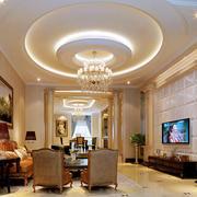 经典欧式风格客厅装修
