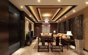 客厅精致吊顶设计