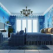 海洋色调卧室装修