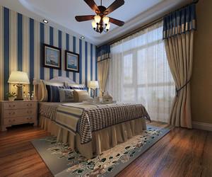 地中海风格自然舒适卧室吊顶装修效果图鉴赏