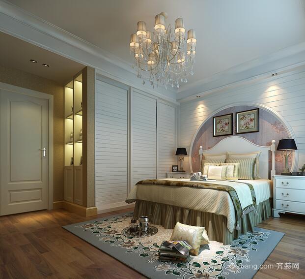 2016大户型欧式卧室室内设计装修效果图鉴赏