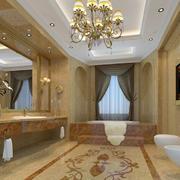 2016欧式卫生间室内设计装修效果图鉴赏