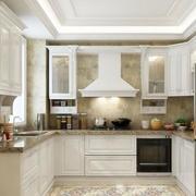2016欧式大户型厨房橱柜设计装修效果图鉴赏