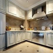 小户型欧式厨房室内装修效果图实例