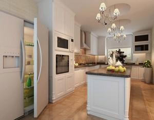 大户型欧式厨房吊顶装修效果图实例